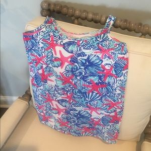 Super cute and soft Lilly Pulitzer tank
